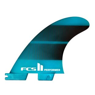 FCS II Performer Neo Glass Teal Gradient Thruster - Small