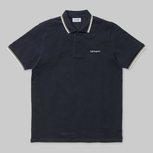 SS Script Embroidery Polo