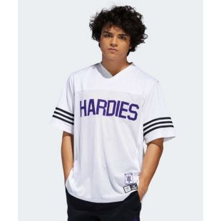 Hardies Jersey White Purple Black