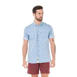 Manatee SS Shirt Denim Camp