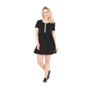 Twill Dress Black