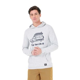 Travel Hoodie Light Grey