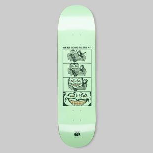 We'Re Going Board Canadian Maple Pastel Green - 8.5