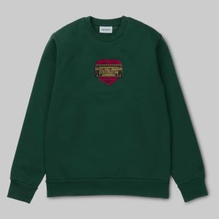 Thank You Sweatshirt PassPort Bottle Green