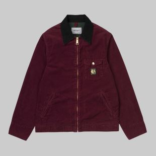 PassPort Jacket Burnt Red Rinsed