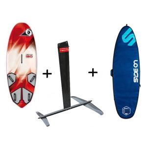 Pack Wind Foil Freeride - Bic Techno Wind 130 + Foil Bic AFS