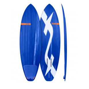 "Twiggy - 6'0 x 20"" x 2.5"" - 33 L - Thruster / Rails Us Box Foil"
