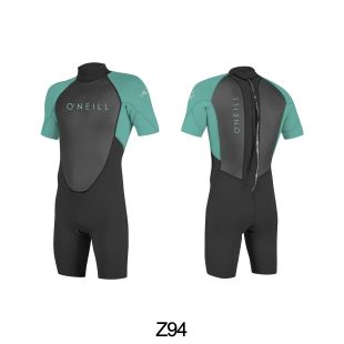 Youth Reactor2 - 2mm Back Zip S/S Spring- Boys