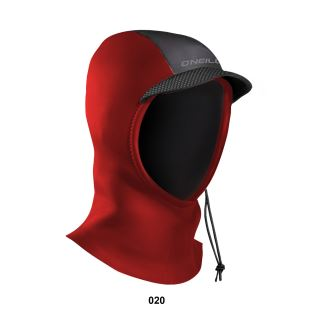 Youth Psycho Hood RED 3mm - Cagoule