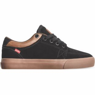 GS Kids Black Suede Gum