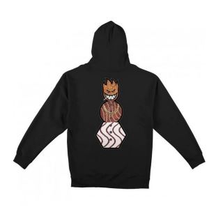 Sweat Snackman Hood Blk