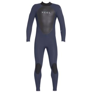 Men 4/3 Axis Back Zip Wetsuit Slate - 2019