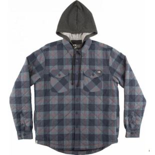 Dock Flannel Black Blue