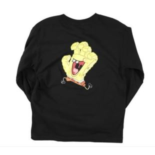 SB Spongehand Youth LS Black
