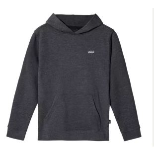 By Basic Pullover Boy Black Heather