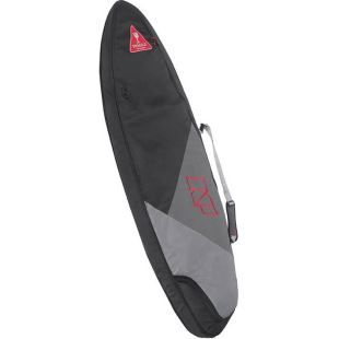 Housse Surf - 5'10 - Black / Grey / Red