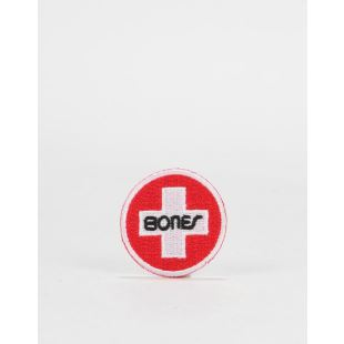 Bones Patch Swiss Circle