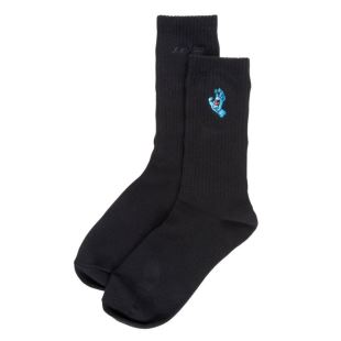 Screaming Mini Hand Sock Blk
