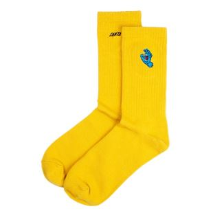 Socks Screaming Mini Hand Mustard
