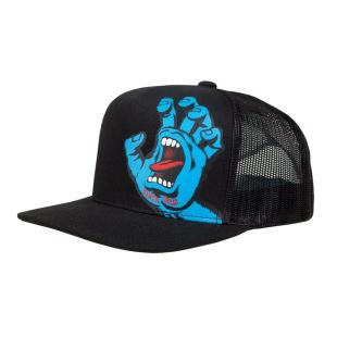 Youth Cap Screaming Hand Blk