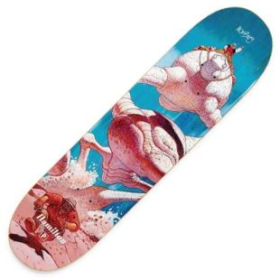 Deck Hamilton La Course Blue 8.38