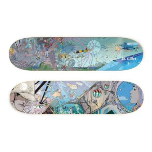 Deck Gillet Major Fresque Blue 8.1