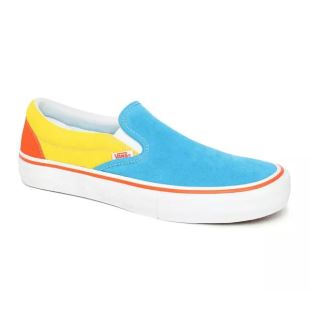 Slip On Pro The Simpsons Blue Yellow