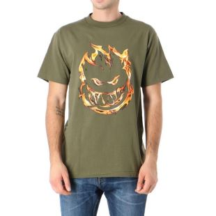 T-Shirt SS 451 Military Green