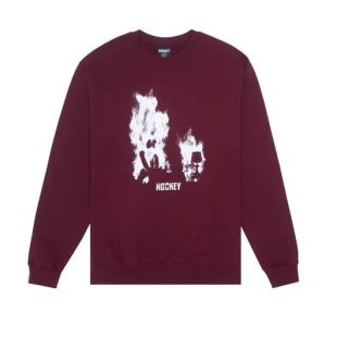 Hockey At Ease Crewneck