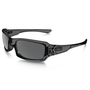 Fives Squared Grey Smoke / /Black Irid Polarized