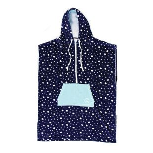 ZIP Lady  hooded - poncho