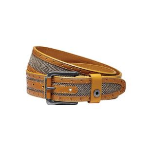 Catton Belt Vintage Orange Herringbone