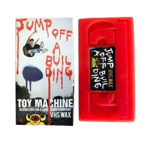 Toy Machine Wax Jump Off A Building