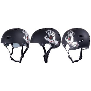 Bullet Helmet Casque Screaming Hand Black