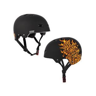 Bullet Helmet Casque Santa Cruz Sun God Black