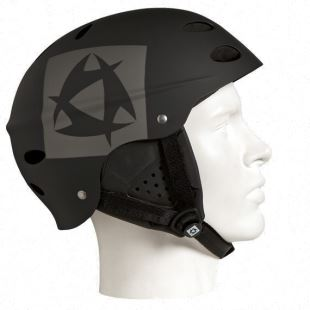 Crown Helmet With Earpads - Black