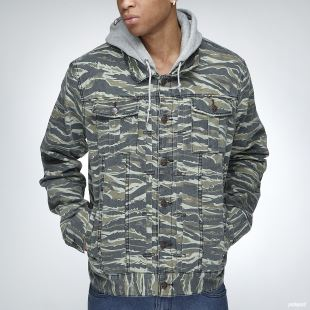 OG Army Jacket Tiger Leaf Camo