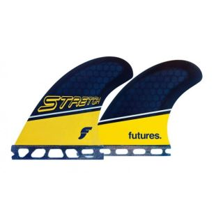 Stretch Quads RTM HEX Yellow/blue