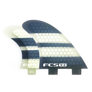 V-2 PC Quad Fin Set