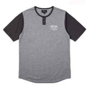 Russel Henley Heather Grey Black