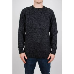 Check Point Sweater Charcoal