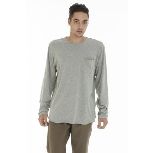 Wallen Tee LS Heather Grey
