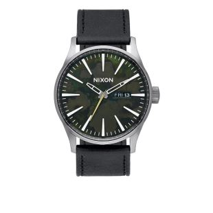 Sentry Leather Gunmetal / Green Oxyde