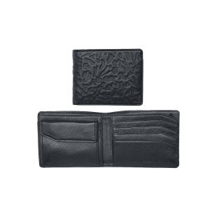 Plaza Bi-Fold Wallet Black