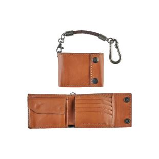 Gravel Bi Fold Rope Wallet Saddle
