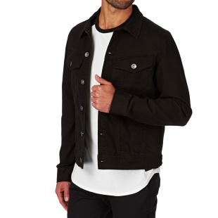 Harrison Twill Jacket Blk
