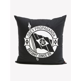 Defiant Pillow Black