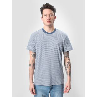 Eighty Nine Striped Tee Navy Multi