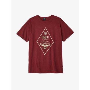 Diamond Lotus Burgundy