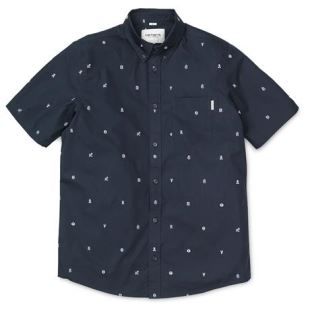 SS Drop Cap Shirt Drop Cap Print